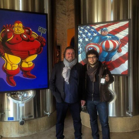 Supporting our artist at the 4th International Contemporary Art Fair in the Wineries (FIAAC)
