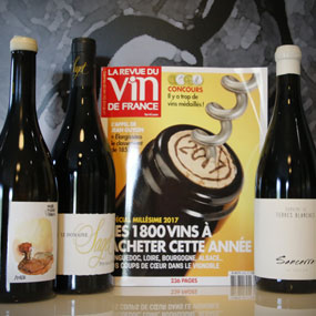 Our wines in the RVF magazine:  Vintage 2017 special edition