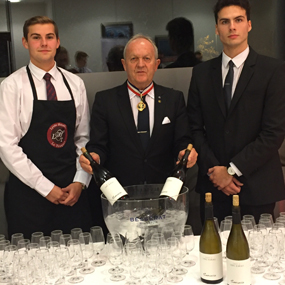 Sancerre wines during the evening of announcement of MOF 2018 !
