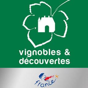 Four of our facilities certified Vignobles & Découvertes