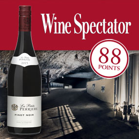 Wine Spectator selects La Petite Perrière Pinot Noir as one of its 100 Most Elegant Reds