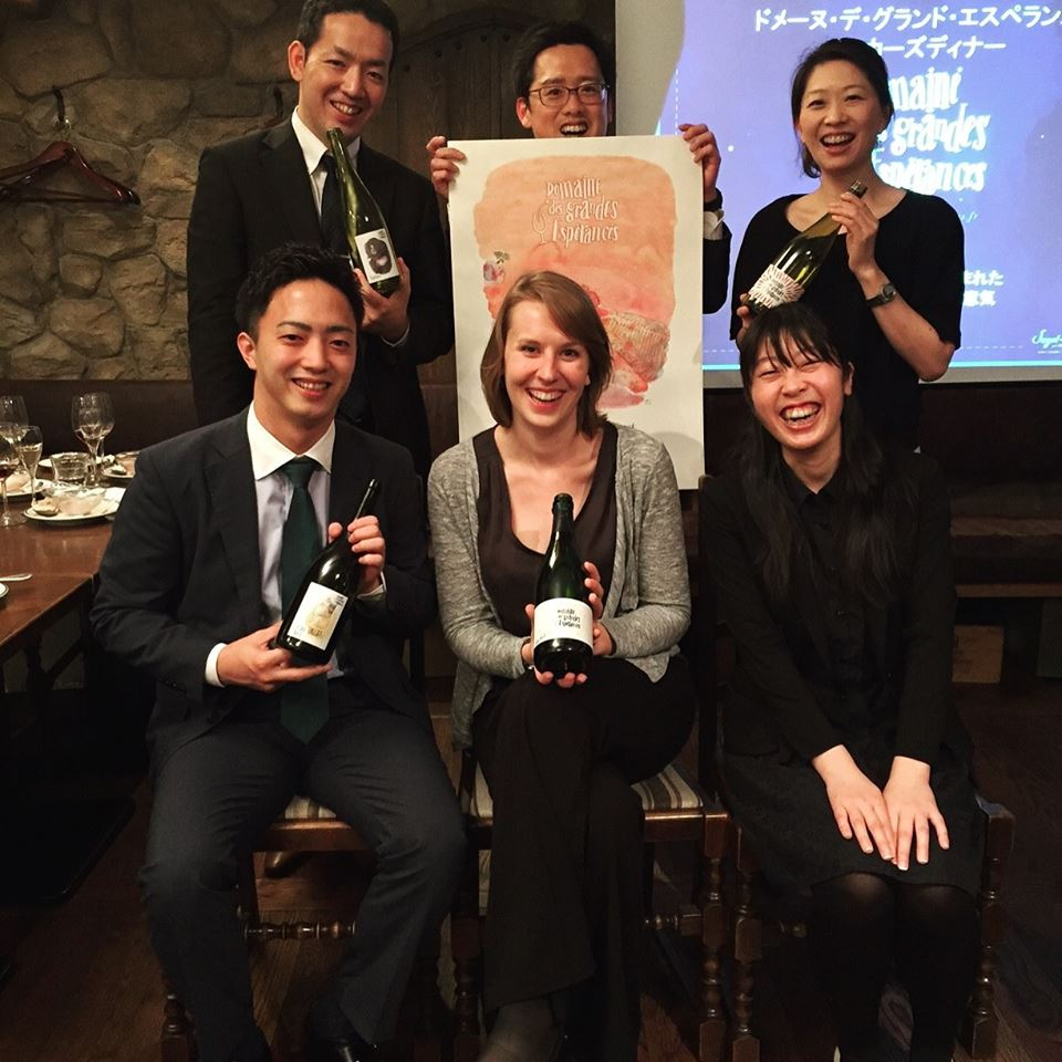 Our Grandes Espérances wines in Japan
