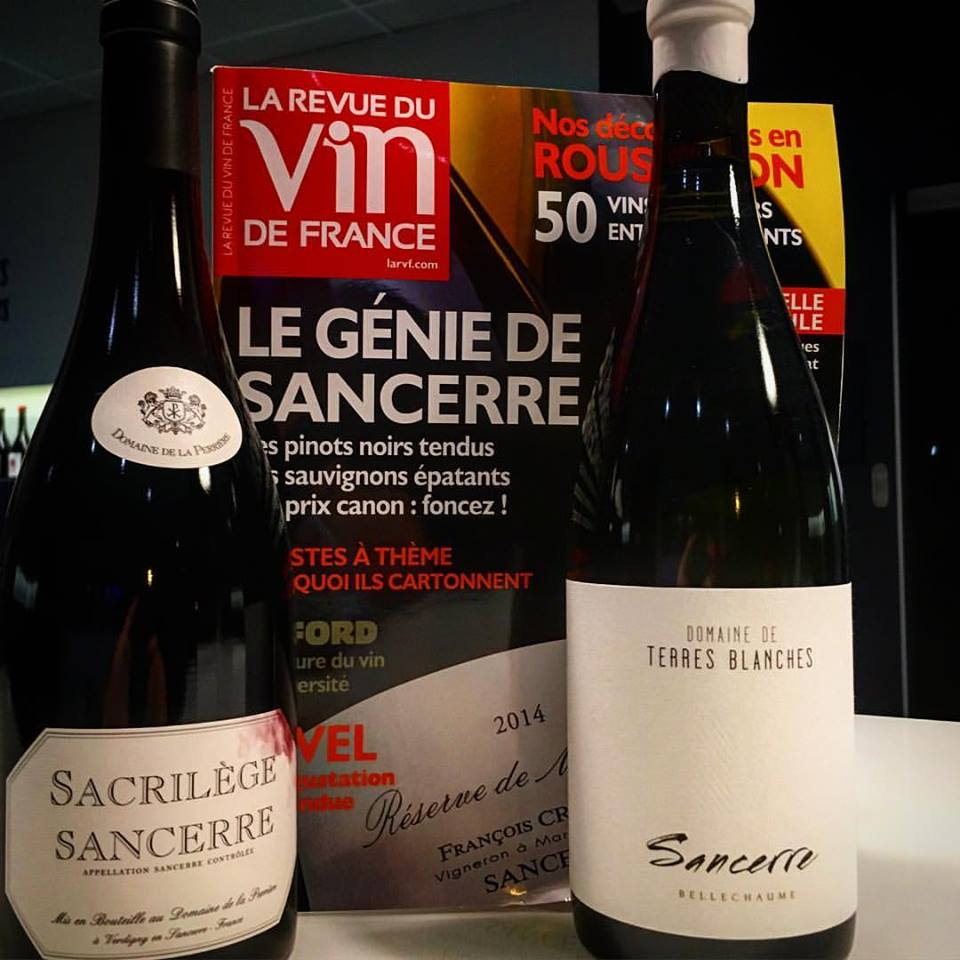 Our Sancerre featured in RVF
