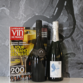 Our Crémant de Loire in the RVF