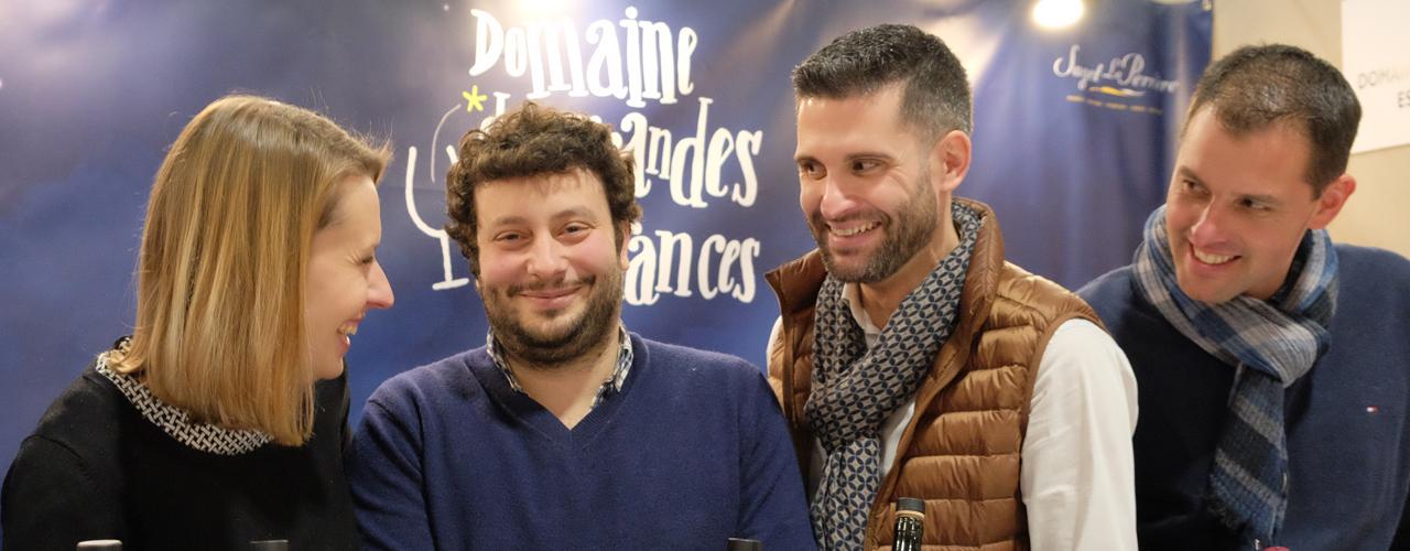 Saget La Perrière - Loire valley wine fair 2019